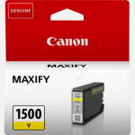 Canon 9231B001 (PGI-1500 Y) Ink cartridge yellow, 300 pages, 5ml