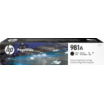 HP J3M71A (981A) Ink cartridge black, 6K pages, 106ml