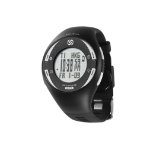 Soleus GPS Pulse BLE Watch Heart Rate Monitor Black/White