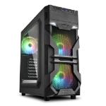 Sharkoon VG7-W Midi ATX Tower Black