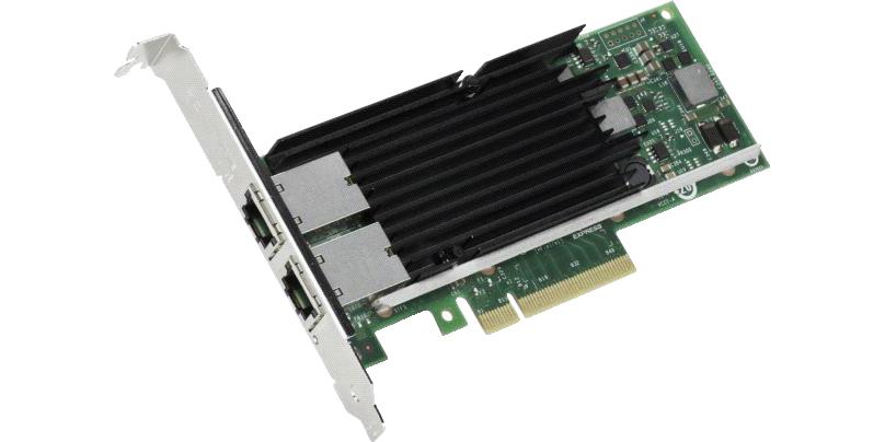 Intel X540T2BLK adaptador y tarjeta de red Ethernet 10000 Mbit/s Interno