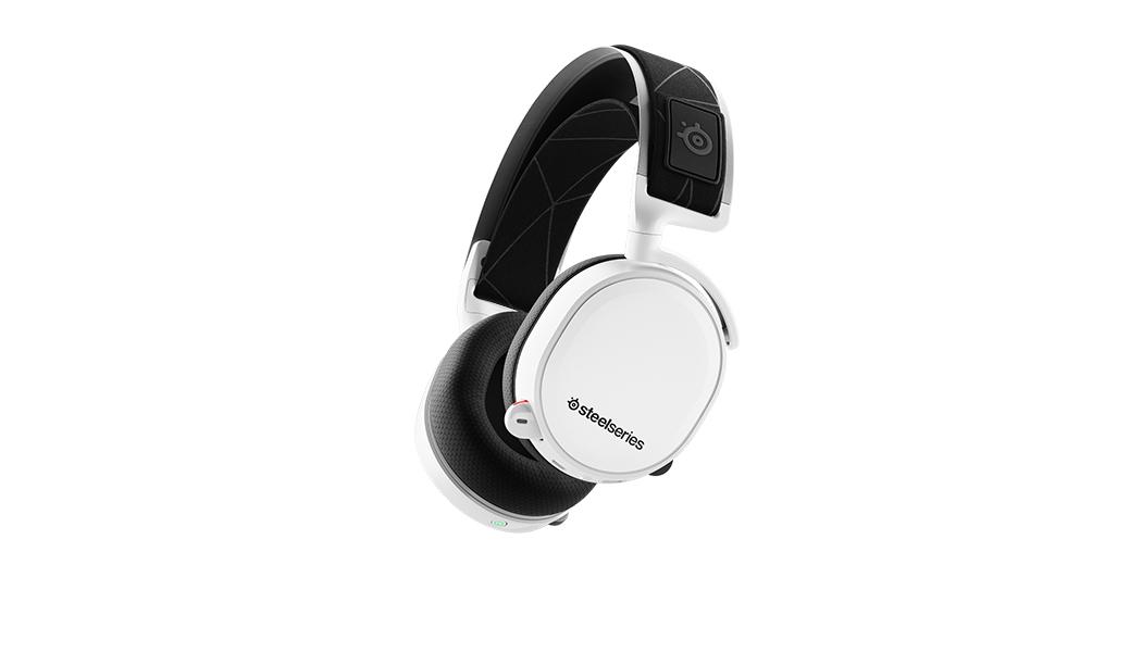 Steelseries Arctis 7 headset Binaural Head-band Black, White
