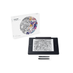 Wacom Intuos Pro Paper L South tableta digitalizadora 5080 líneas por pulgada 311 x 216 mm USB/Bluetooth Negro
