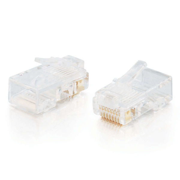 C2G 88121 RJ-45 White wire connector