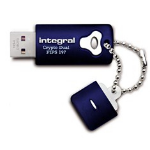 Integral 8GB Crypto Dual FIPS 197 USB flash drive USB Type-A 2.0 Blue