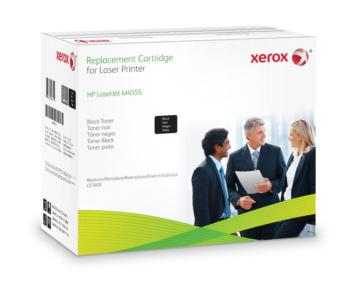 Xerox Cartucho De Tóner Negro. Equivalente A Hp Ce390X