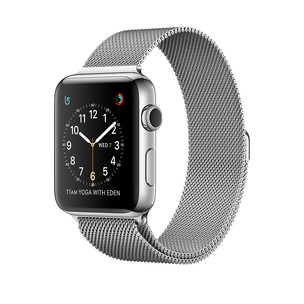 Apple Watch Series 2 OLED 41.9g Stainless steel smartwatch