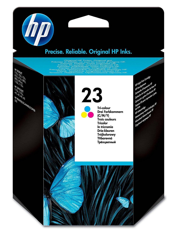 HP 23 Origineel Cyaan, Magenta, Geel 1 stuk(s)