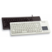 CHERRY XS Touchpad Keyboard (ES) teclado USB Gris