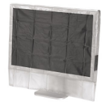 "Hama Dust Cover for 20""/22"" Widescreen Monitors Transparent"