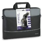 "Targus BEU3186-01P 15.6"" Briefcase Black notebook case"