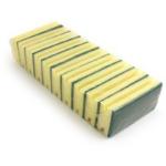 FSMISC SPONGE SCOURERS PK10 GREEN/YELLOW