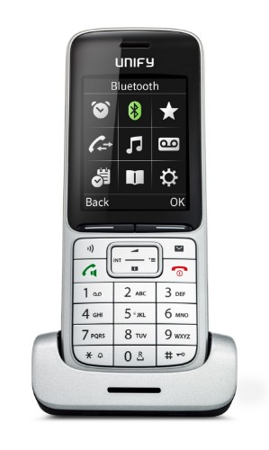 Unify SL5 DECT telephone Black,Silver Caller ID