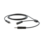 Elgato Chat Link audio cable 3.5mm 2 x 3.5mm Black