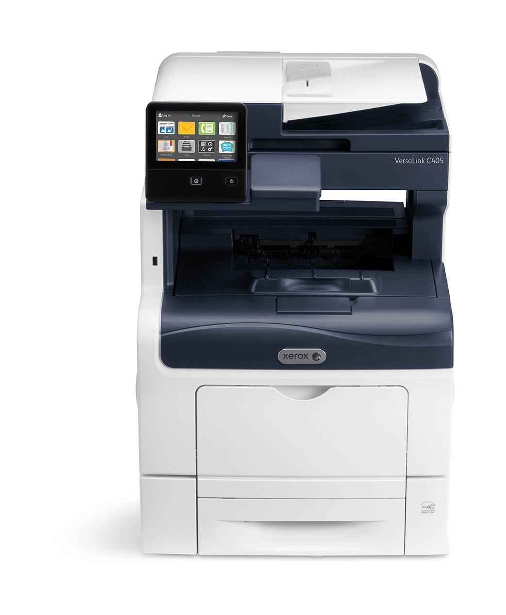 Xerox VersaLink Impresora C405 A4 35/35ppm Copia/Impresión/Escaneado/Fax de impresión a dos caras con PS3 PCL5e/6 y 2 bandejas de 700 hojas