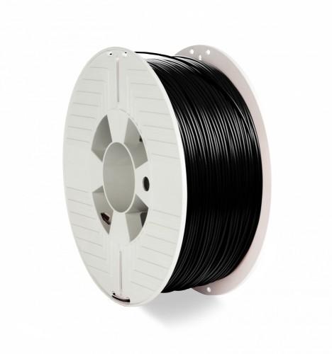 Verbatim 55318 3D printing material Polylactic acid (PLA) Black 1 kg