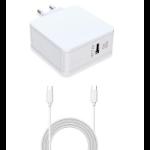 CoreParts USB-C Power Adapter White