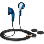 Sennheiser MX 365 Blue Auriculares Dentro de oído Azul