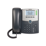 Cisco SPA504G, Refurbished IP phone Black 4 lines LCD