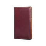 Moshi Passport Holder - 9.8W x 14.5H x 1.3D Burgundy Red