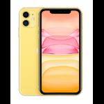 "Apple iPhone 11 15.5 cm (6.1"") 128 GB Dual SIM 4G Yellow iOS 13"