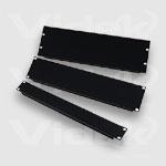 """Videk 1U 19"""" Steel Blank Panel"""