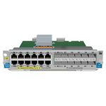 Hewlett Packard Enterprise 12-port Gig-T PoE+ / 12-port SFP v2