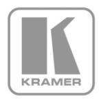 Kramer Electronics 2-channel audio mixer