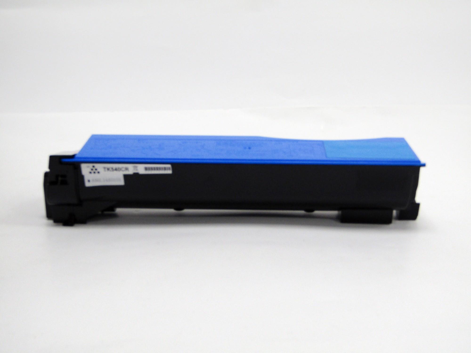 Remanufactured Kyocera TK540C Cyan Toner Cartridge