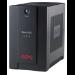 APC Back-UPS sistema de alimentación ininterrumpida (UPS) Línea interactiva 500 VA 300 W 3 salidas AC
