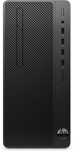 HP 290 G3 9th gen Intel® Core™ i3 i3-9100 8 GB DDR4-SDRAM 256 GB SSD Black Micro Tower PC