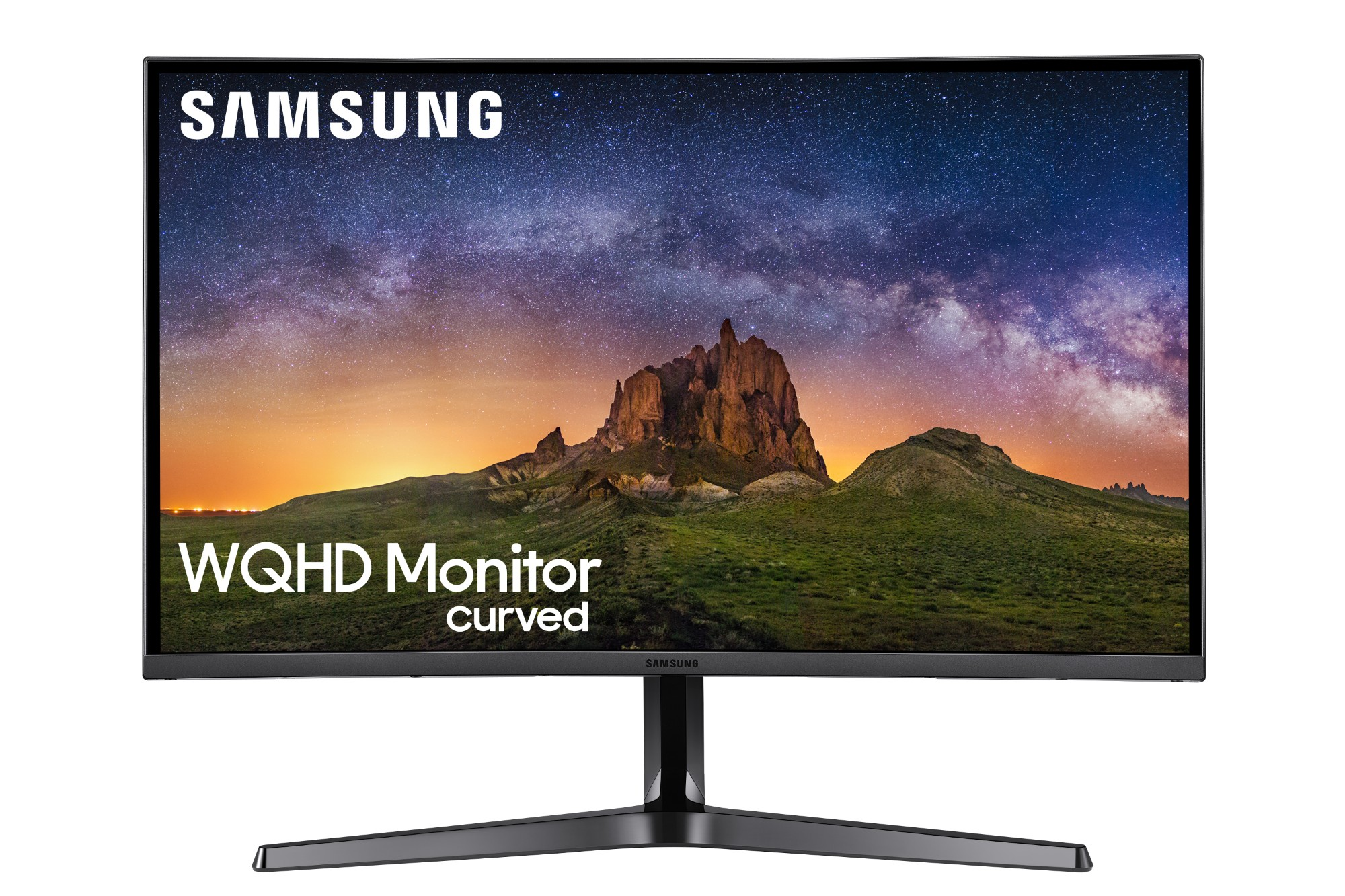 "Samsung C27JG50QQU LED display 68.3 cm (26.9"") 2560 x 1440 pixels WQHD Curved Matt Silver"