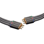 Altronics 0.75m Component 3 RCA Male to 3 RCA Male Cable
