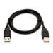 V7 Cable USB negro con conector USB 2.0 A macho a USB 2.0 A macho 2m 6.6ft