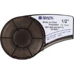 Brady 139747 Black,White Self-adhesive printer label