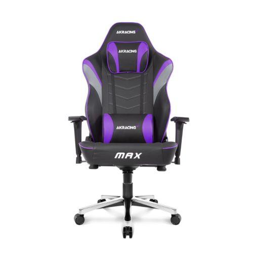 AKRACING Masters Series Max Gaming Chair, Black & Indigo, 5/10 Year Warranty