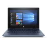 "HP ProBook x360 11 G5 EE DDR4-SDRAM Hybride (2-in-1) 29,5 cm (11.6"") 1366 x 768 Pixels Touchscreen Intel® Celeron® N 4 GB 128 GB SSD Wi-Fi 5 (802.11ac) Windows 10 Pro Blauw"