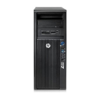 HP 420 DDR3-SDRAM E5-1620V2 Mini Tower Intel® Xeon® E5 Family 8 GB 256 GB SSD Windows 7 Professional Workstation Black