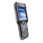 "Intermec CK3X handheld mobile computer 8.89 cm (3.5"") 240 x 320 pixels Touchscreen 499 g Black,Grey"