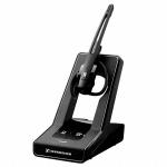 Sennheiser SD Office ML Monaural Ear-hook,Head-band Black headset