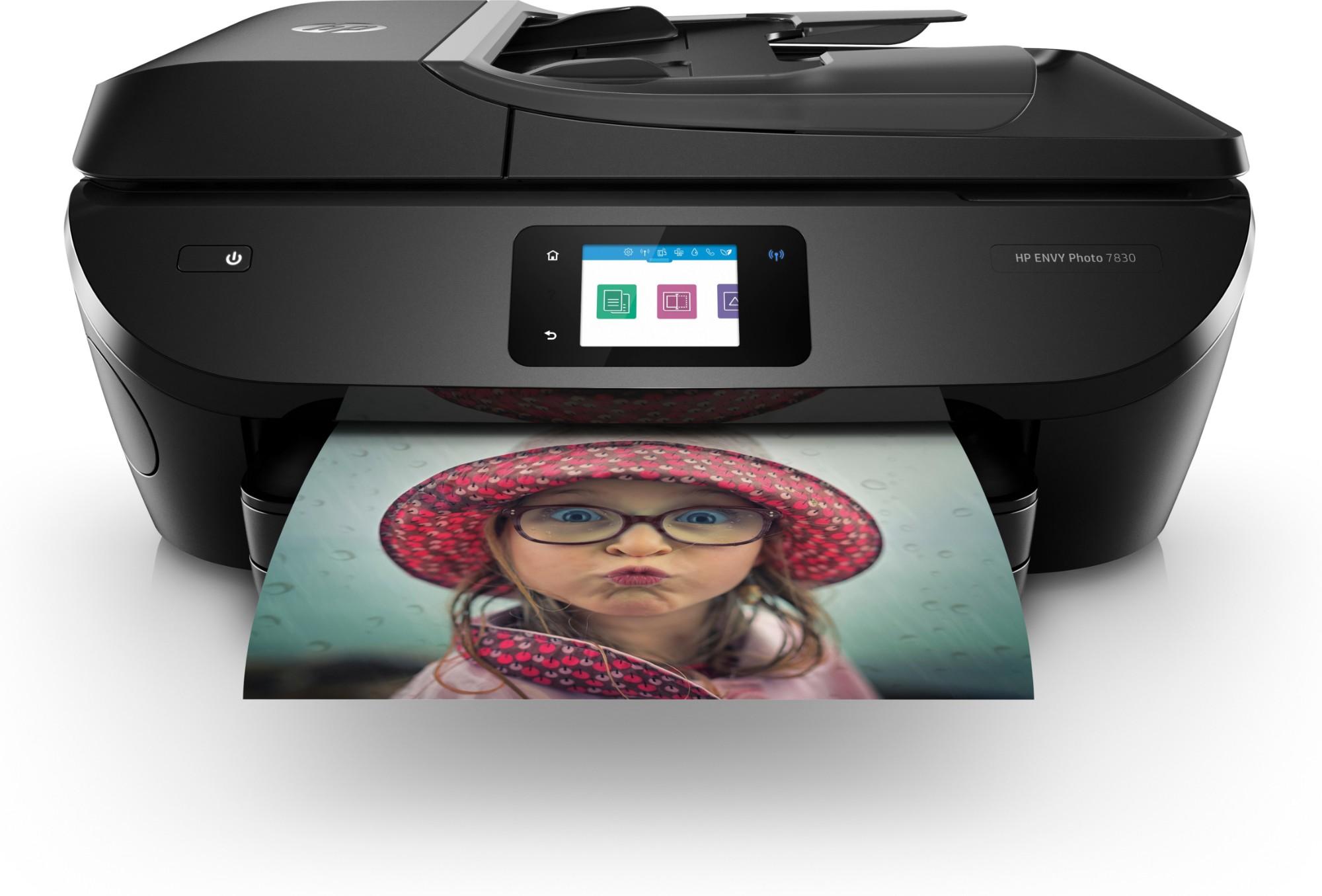 HP ENVY Photo 7830 Inyección de tinta térmica 15 ppm 4800 x 1200 DPI A4 Wifi