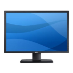 "DELL UltraSharp U2412M LED display 61 cm (24"") 1920 x 1200 pixels WUXGA Flat Black"