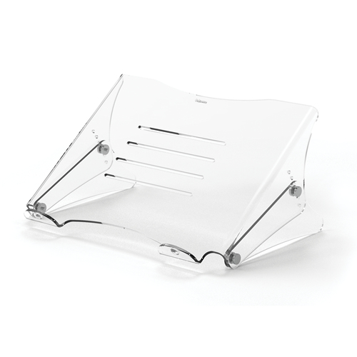 """Fellowes Clarity 38.1 cm (15"""") Notebook stand Transparent"""