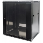 Intellinet 713740 Wall mounted rack 6U 30kg Black