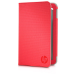 """HP E3F48AA 7"""" Tablet folio Red"""