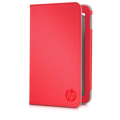 HP Slate 7 Folio Cover Case - Red - (E3F48AA)