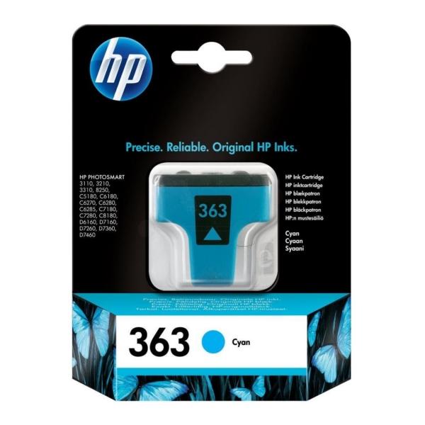 HP C8771EE (363) Ink cartridge cyan, 400 pages, 4ml
