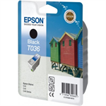 Epson C13T03614010 (T036) Ink cartridge black, 330 pages, 10ml