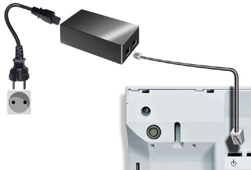 Unify L30250-F600-C142 power adapter/inverter Indoor Black