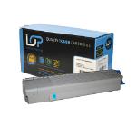 Click, Save & Print Remanufactured Oki 44059107 Cyan Toner Cartridge